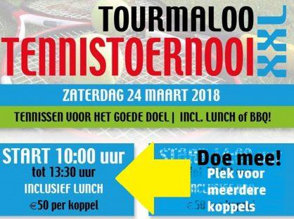 Tourmaloo Openingstoernooi – plek in de ochtend