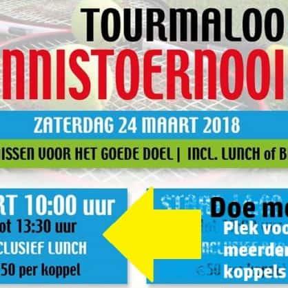 Tourmaloo Openingstoernooi - plek in de ochtend