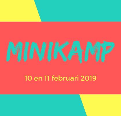 Minikamp 10 tot 11 februari